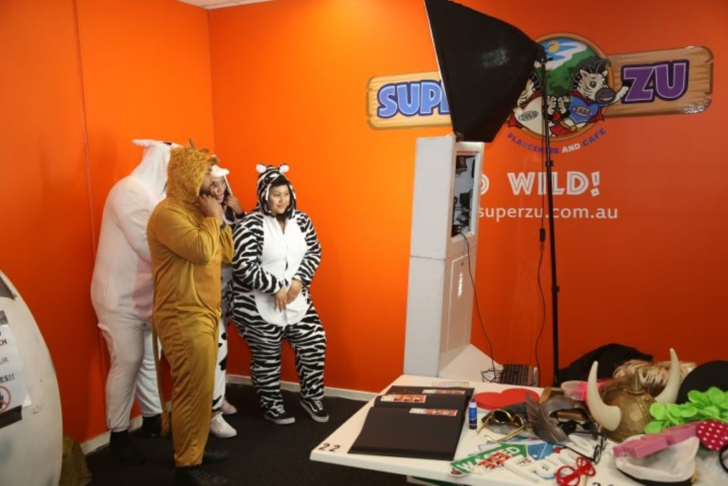 1st birthday photo booth hire