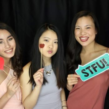 21st birthday party photo booth