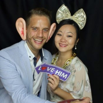 30th birthday party photo booth hire
