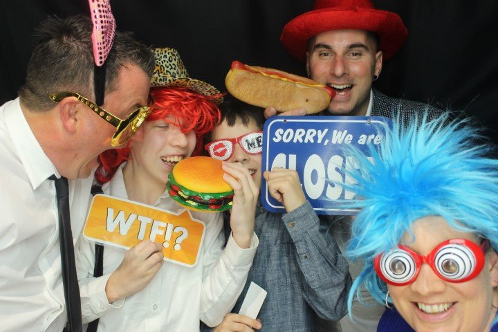 Open air photo booth hire in Melbourne