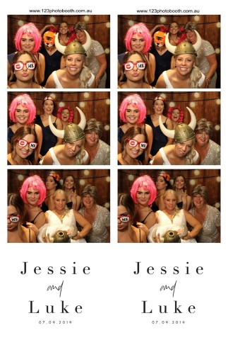 Photo booth hire melbourne wedding