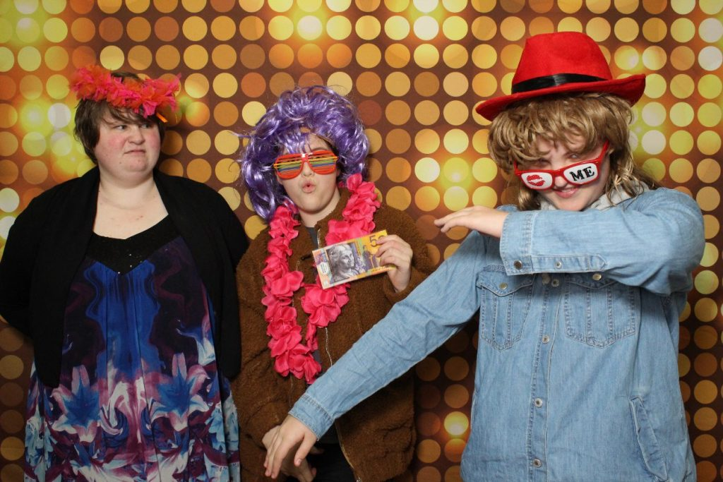 golden photo booth backdrop
