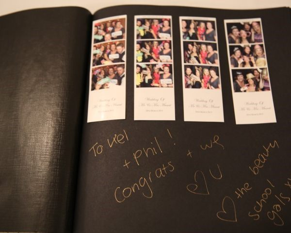 photo booth hire birthday guestbook