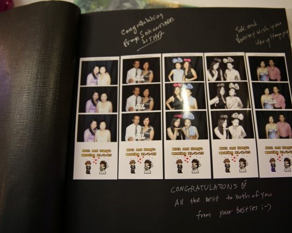 engagement guestbook