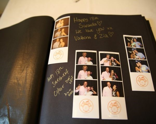 photo booth hire guestbook examples