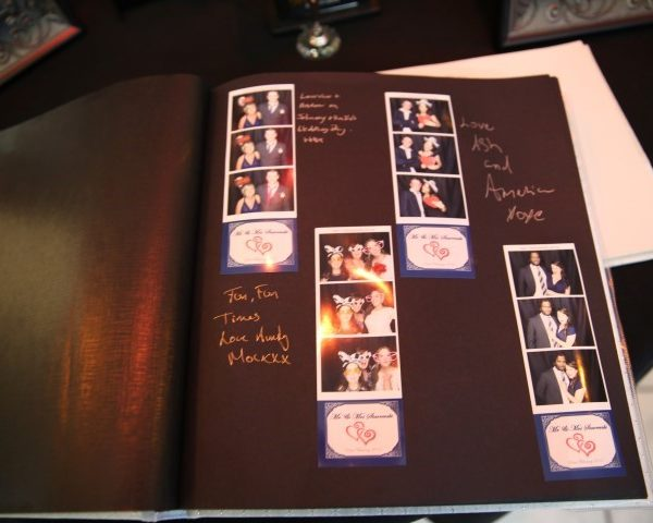photo booth hire guestbook ideas