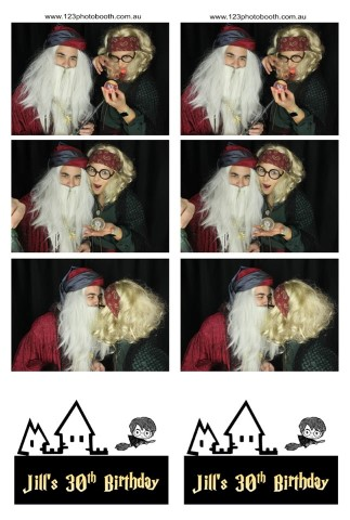 harry potter party photo booth hire melbourne