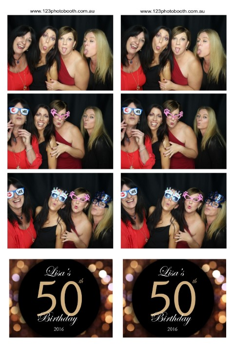party celebrations photo booth