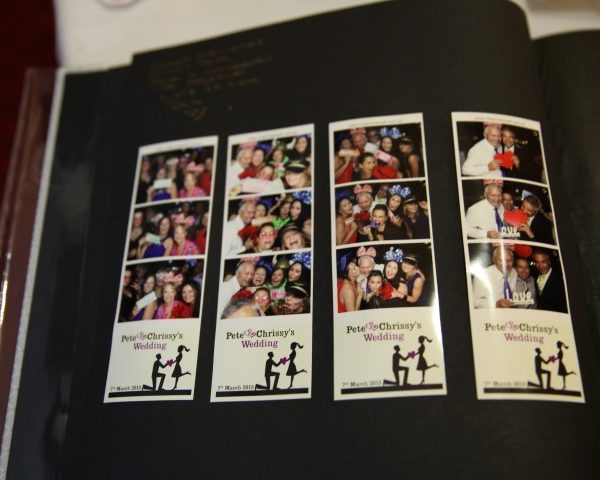 photo booth hire scrapbook
