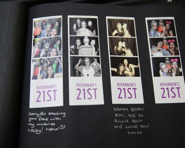 photo booth wedding guestbook