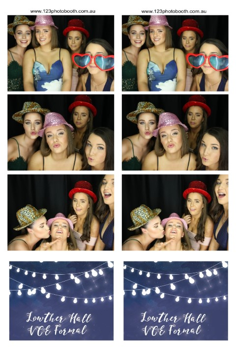 university function photo booth